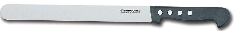 Couteau à jambon 30mm de large 4 rivets 28 cm