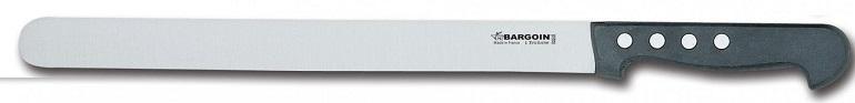 Couteau à jambon 30mm de large 4 rivets 33 cm