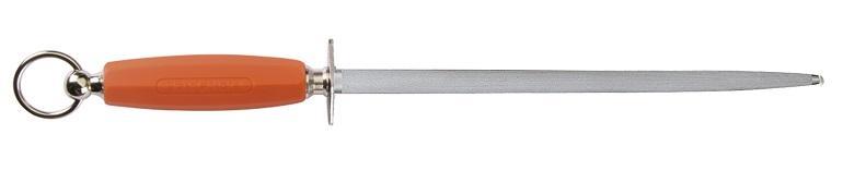 Fusil Rond 30 cm manche plastique Soft orange - C440R