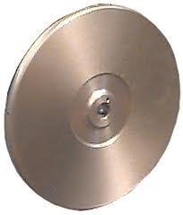Couronne aluminium spéciale tous poils double face utilisation à poudre FCTV