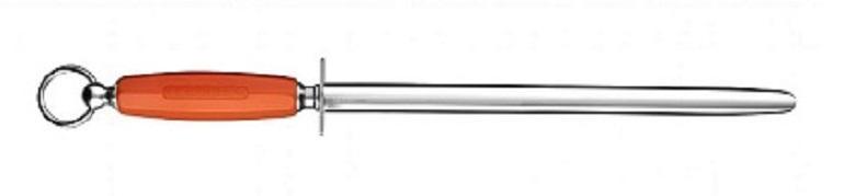 Fusil Ovale lisse 30 cm manche plastique Soft orange - L545R