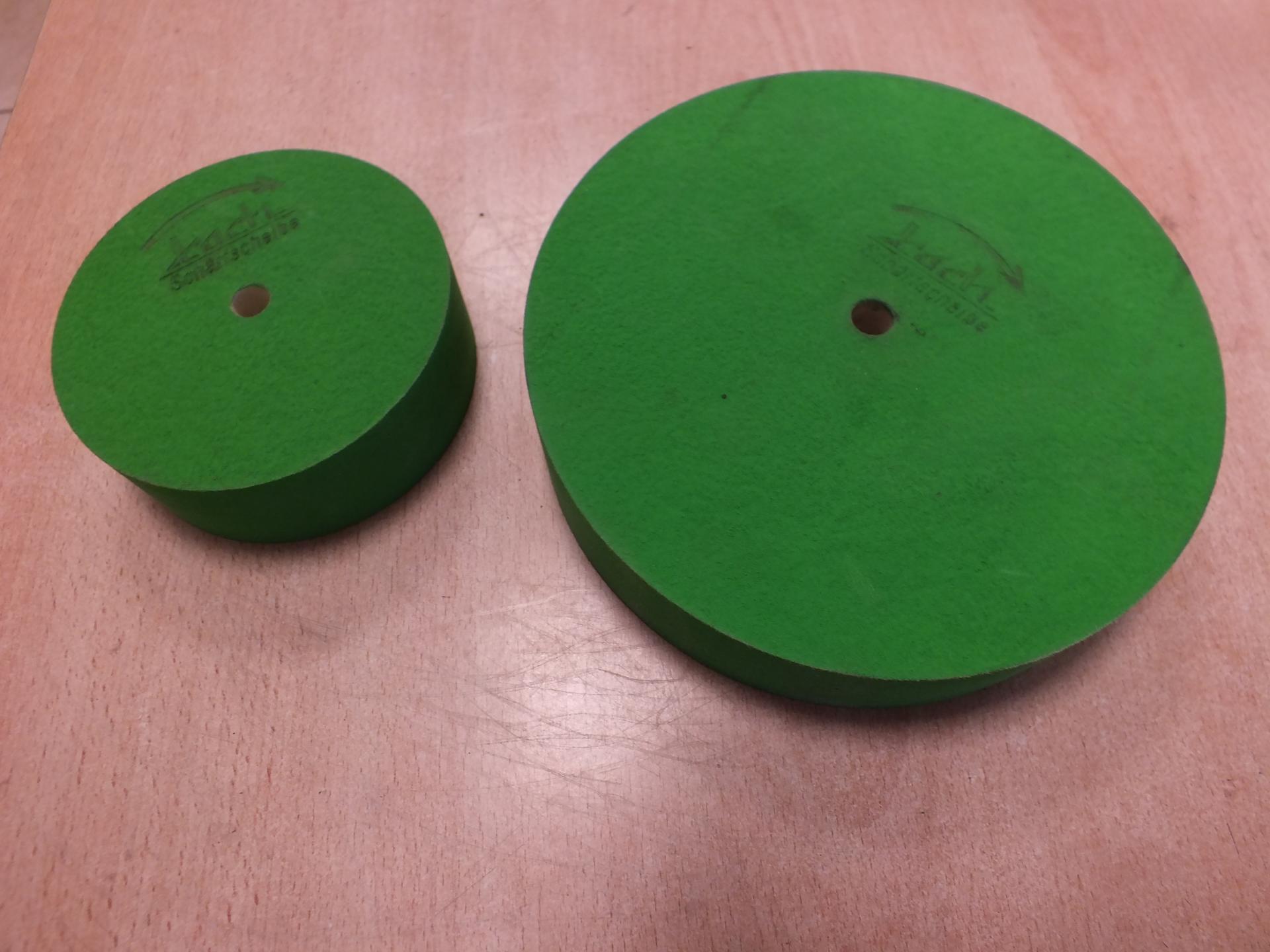 Meules verts affuteurs remouleurs